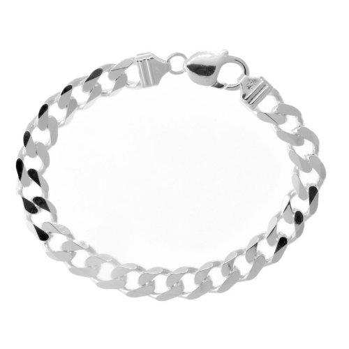 Solid Sterling Silver Cuban Link Bracelet 30 Grams