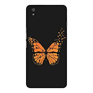 Back cover for OnePlus X Free Bird Butterfly