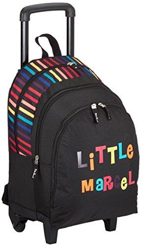 Little Marcel Zaino Scuola, NOIR LITTLE (Nero) - H15ABAG0649