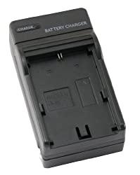 STK's Canon LP-E6 Battery Charger - for Canon EOS 6D, 7D, 70D, 60D, 5D Mark III, 5D Mark II, 60DA DSLR Cameras, LP-E6 Battery, LC-E6 Charger