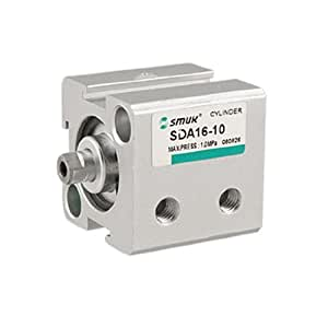 16mm Bore 10mm Stroke Double Action Pneumatic Cylinder