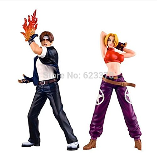 Captin Liu Collection King Of Fighter Figure Kof Angel, Kyo, K, Mary Pvc Battle Action Figure The King Of Fighter Collectibles Toy Figurine