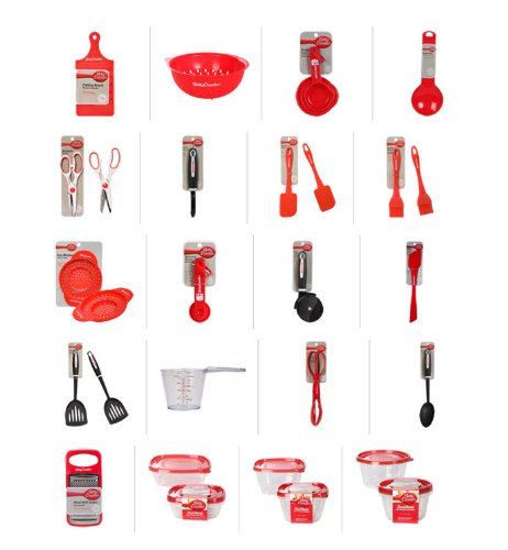 Betty Crocker Kitchen Starter Set - 20 Piece Set (Kitchen Starter compare prices)