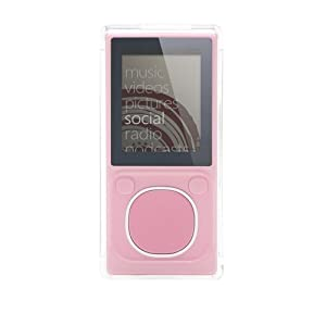 Griffin iClear Hard-Shell Case for Zune 4/8GB (Clear)