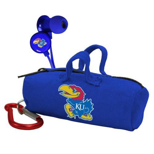 Kansas Jayhawks Scorch Earbuds W/ Budbag