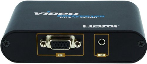 C&E MM-LKV350 VGA to HDMI Converter with Stereo