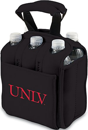 Ncaa Unlv Runnin Rebels Six Pack Cooler Tote front-630494
