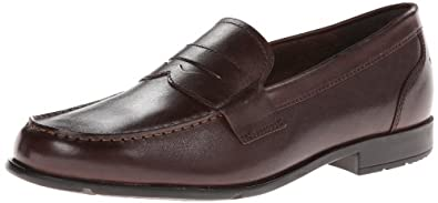 Rockport Men's Classic Penny Loafer,Coach Brown,8.5 M US