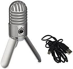 Samson Meteor Mic USB Studio Microphone (Brushed Nickel)