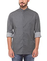 Shuffle Men's Casual Shirt (8907423018891_2021515101_Medium_Grey)