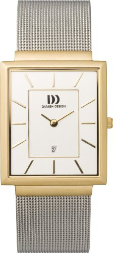 Danish Designs Men's IQ65Q737 Stainless Steel Gold Ion Plated Watch