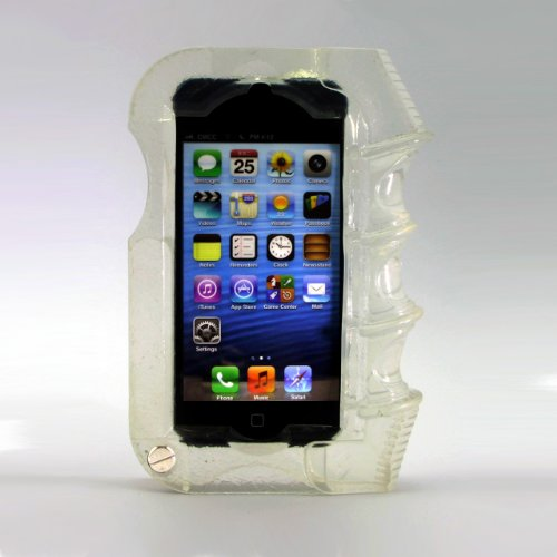 Best Price Shockcase Clear Pistol Grip iPhone 5 Case