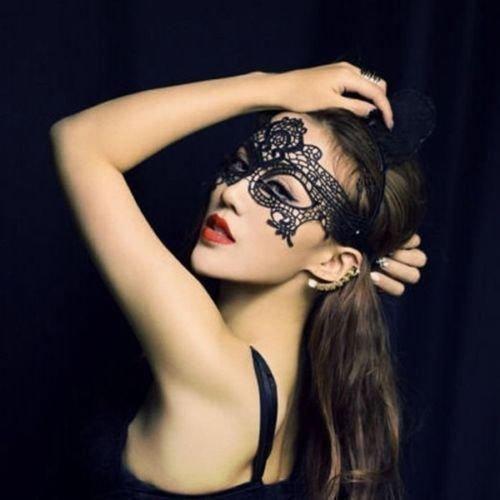 En-dentelle-noire-sexy-masque