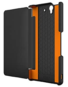 Tech21 D3O Impact Snap with Cover for Sony Xperia Z - Black