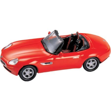 HO Die-Cast BMW Z8 Cabrio, Red