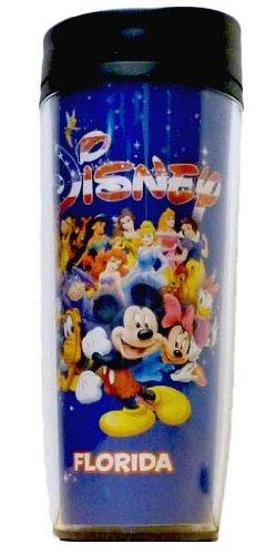 Disney Mickey Minnnie Goofy Pluto Donald Americana Travel Mug