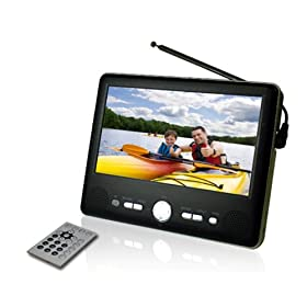 413AcEO4lXL. SL500 AA280  Axion AXN 8701 7 Inch Widescreen Portable Handheld TV with Built In Tuner   $120 Shipped