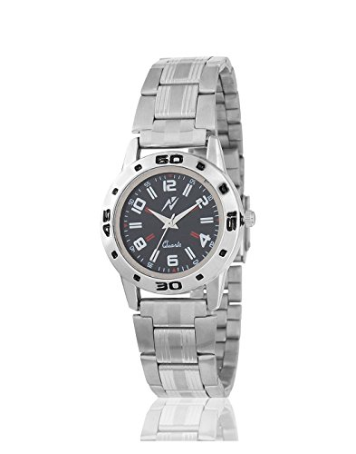 Yepme Women's Chain Watch – Black/Silver