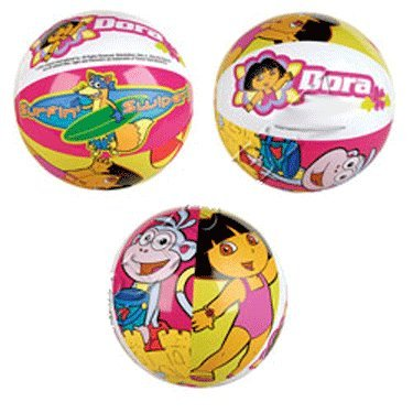1 dz - Dora the Explorer Inflatable Beach Balls