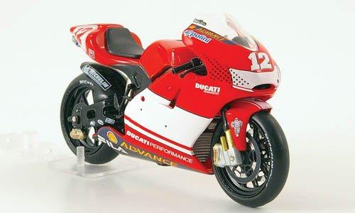 Ducati Desmosedici, No.12, T.Bayliss, MotoGP , 2003, Model Car, Ready-made, IXO 1:24