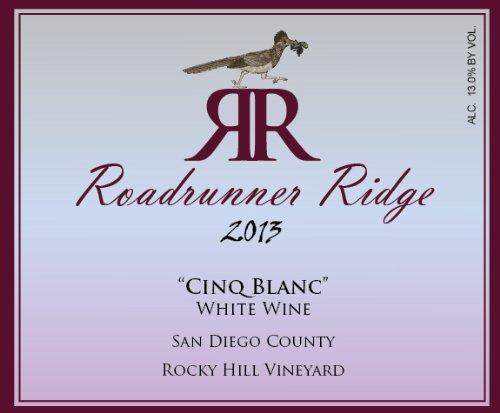 2013 Roadrunner Ridge Cinq Blanc White Rhone Blend 750 Ml