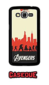 Caseque Marvel - The Avengers Back Shell Case Cover For Samsung Galaxy Grand 2
