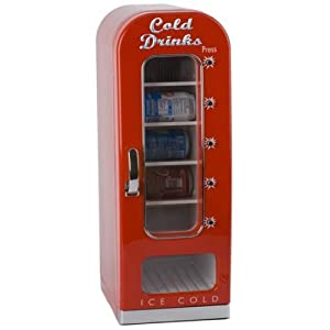 balvi mini k hlschrank cold drinks x10 automat 220w 12v coca cola k hlschrank. Black Bedroom Furniture Sets. Home Design Ideas