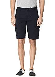 Travellers Essential Navy Cargo Shorts(12040404801)