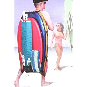 Jumbo Beach Bag for Body Boards, Umbrellas and Gear