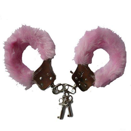 normani® Handschellen mit Plüsch in pink Größe Onesize Farbe pink