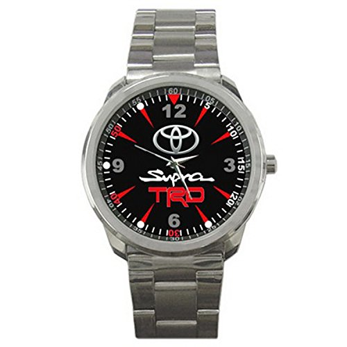 Paper Printed XLKD220 Hot Toyota Supra TRD 3000GT Emblem Sport Watch (Japanese Toyota Emblem compare prices)