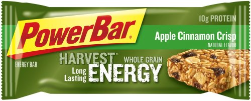 PowerBar Harvest Whole Grain Energy Bar, Apple Cinnamon Crisp, 2.29-Ounce Bars (Pack of 15)