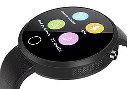 EFOSHM Smart Watch for Android smartphones (Black)
