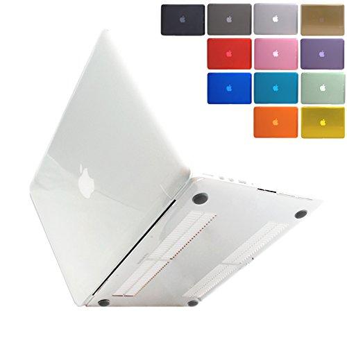 [MS factory/RMC series] MacBook Pro Retina ディスプレイ 13.3インチ 専用 (Mid 2014 対応) クリスタル ハード シェル パソコンケース パソコンカバー 《全12色/RMC オリジナルカラー》 クリア (透明) RMC-MBR13XCL