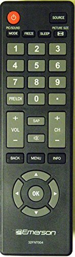 BRAND NEW EMERSON 32FNT004 LCD HDTV REMOTE CONTROL For model numbers: LE240EM4 LE290EM4 LE320EM4 LF320EM4 LF320EM4A (Emerson Television Remote Control compare prices)