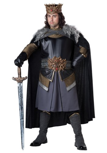InCharacter Costumes Men's Plus-Size Medieval King Plus Size