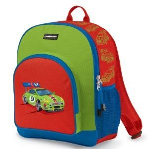Crocodile Creek Toddler Backpack Racecar