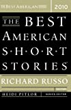 img - for The Best American Short Stories 2010 book / textbook / text book