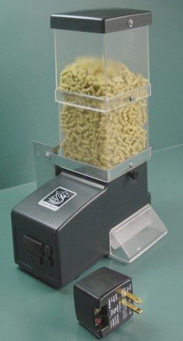 Black friday automatic fish feeder koi pond feeder basic for Best automatic fish feeder