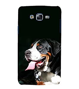 printtech Nature Animal Dog Back Case Cover for Samsung Galaxy J1::Samsung Galaxy J1 J100F