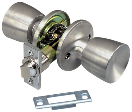 Valterra L32CS200 Passage Lock for Interior Hall/Closet Door (Viewpack)