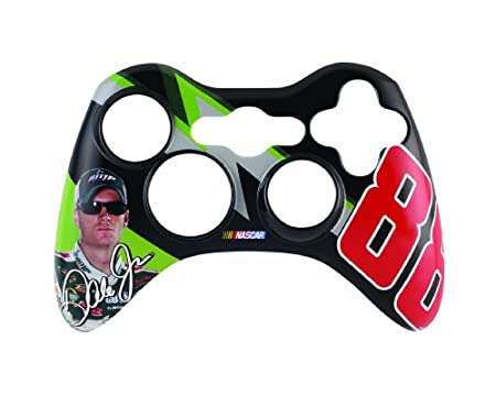 Xbox 360 NASCAR Controller Faceplate - AMPED Black