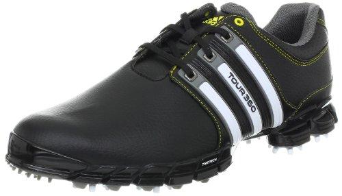 adidas Men's Tour360 ATV M1 Golf Shoe,Black,8 M US