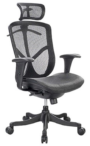 Eurotech FUZ6B-HI Fuzion High Back Office Desk Chair With Free Shipping And Lifetime Manufacturer Warranty