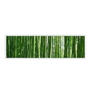 motivscheibe f r ikea wandleuchte gyllen im querformat mit motiv bambus k che. Black Bedroom Furniture Sets. Home Design Ideas
