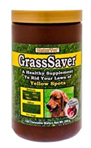 NaturVet GrassSaver Chewable Wafers 300/Pk