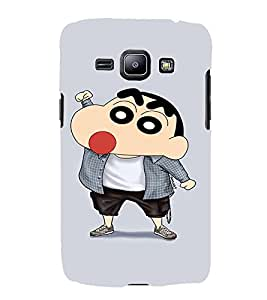 EPICCASE Ching Shang Mobile Back Case Cover For Samsung Galaxy J1 (Designer Case)