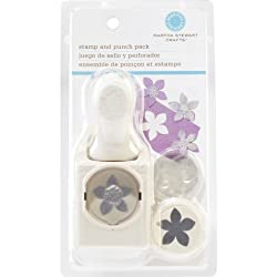 Martha Stewart Crafts Stamp And Punch Set, Flower