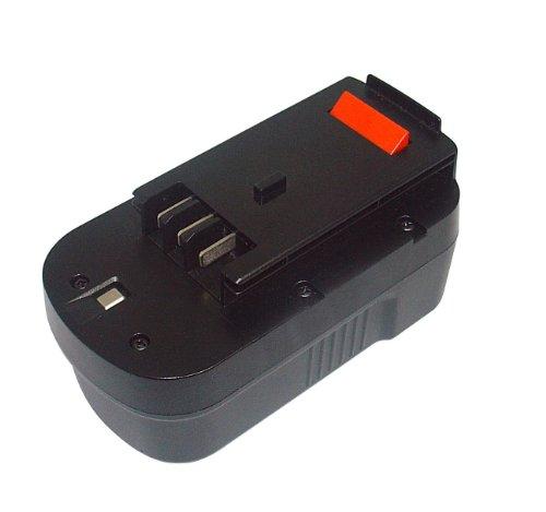PowerSmart® - Batteria di ricambio NiCd, 1.700 mAh, 18 V, compatibile con BLACK & DECKER EPC182K2, EPC186BK, EPC188BK, EPC188CBK, EPC18CABK, EPC18CAK, EPC18K2, HP188F2B, HP188F3B, HP188F3K, HP188F4BK, HPD1800, HPD18K-2, HPG1800 e HPG18K-2