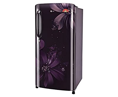 LG GL-B201APAN.APAZEBN Direct-cool Single-door Refrigerator (190 Ltrs, 5 Star Rating, Purple Aster)